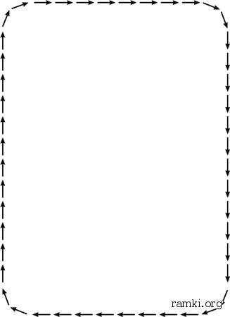черно белое фото красной рамке